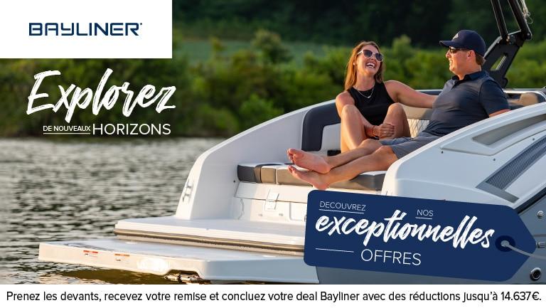 Promo Bayliner : de nouveaux horizons vous attendent